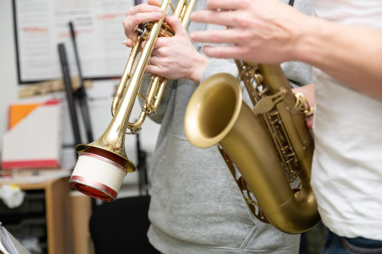 Trompet & Saxafónn